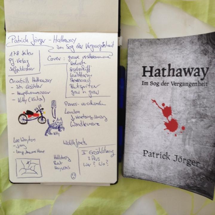 Rezension von: Hathaway vonPatrick Jörger mit Sketchnote