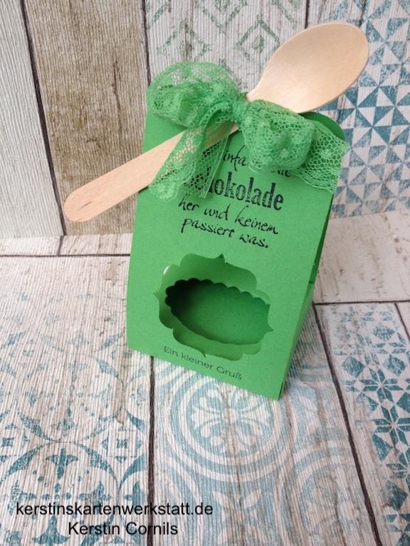 Kleine Verpackung fürSchokolade
