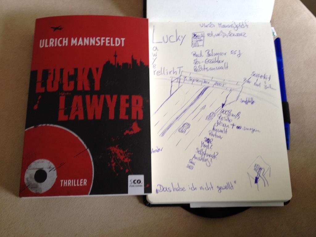Sketchnote zu Ulrich Mannsfeldt Lucky Lawyer