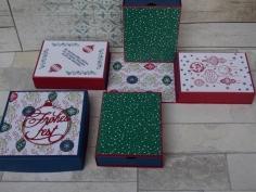 Weihnachten Explosionsbox Schachteln 2