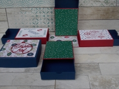 Weihnachten Explosionsbox Schachteln 3