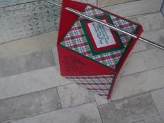 Weihnachten Strohhalmbox