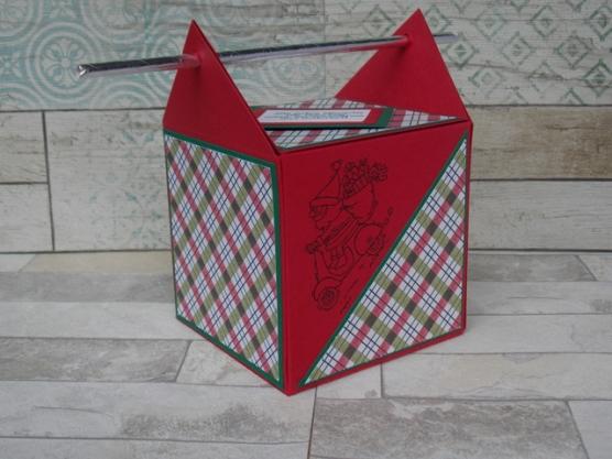 Weihnachten Strohhalmbox groß 3