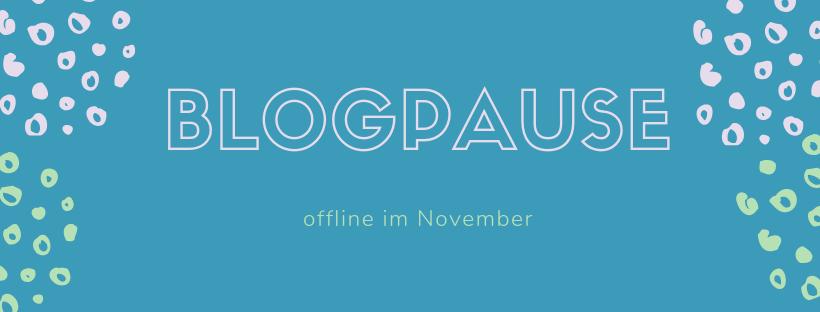Blogpause 2018