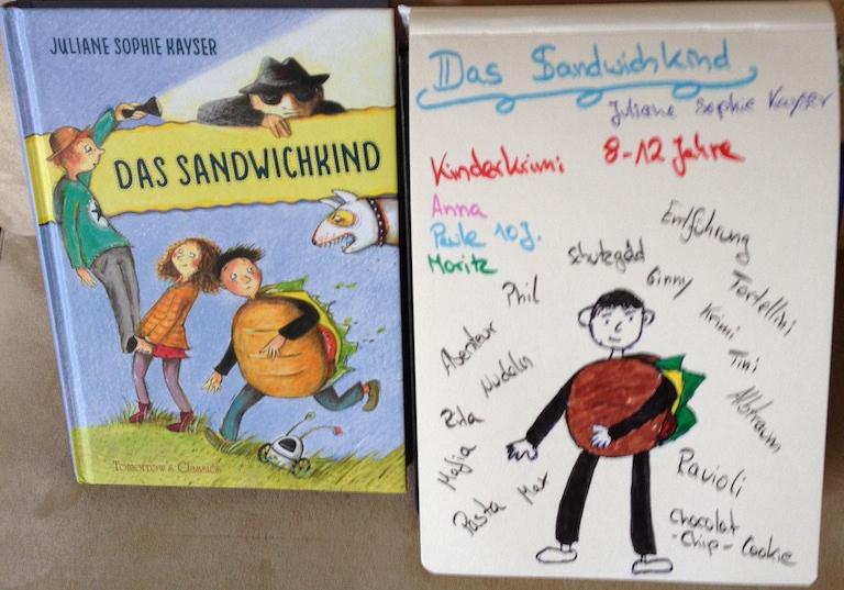 Rezension: Das Sandwichkind von Juliane SophieKayser