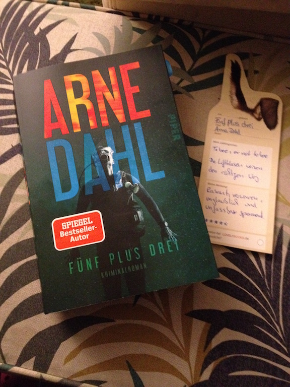 Kriminalroman: Fünf plus drei von Arne Dahl
