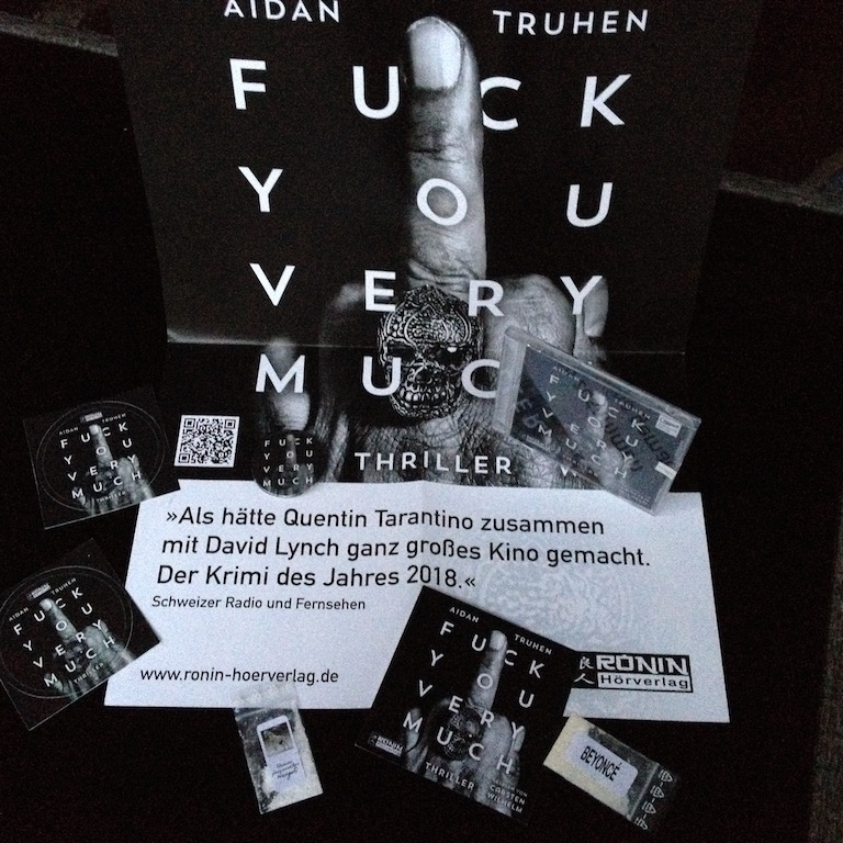 Hörbuch: Fuck you very much von Aidan Truhen