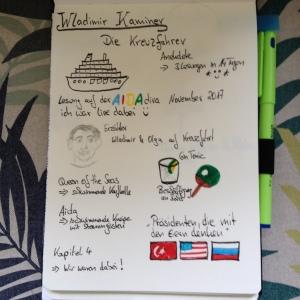 Sketchnote Die Kreuzfahrer von Wladimir Kaminer