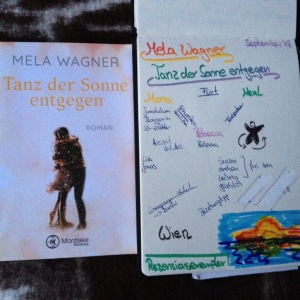 Sketchnote: Mela Wagner Tanz der Sonne entgegen