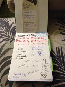 Sketchnote zum Kriminalroman: Fünf plus drei von Arne Dahl