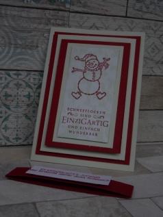 Weihnachten Faltkarte 2