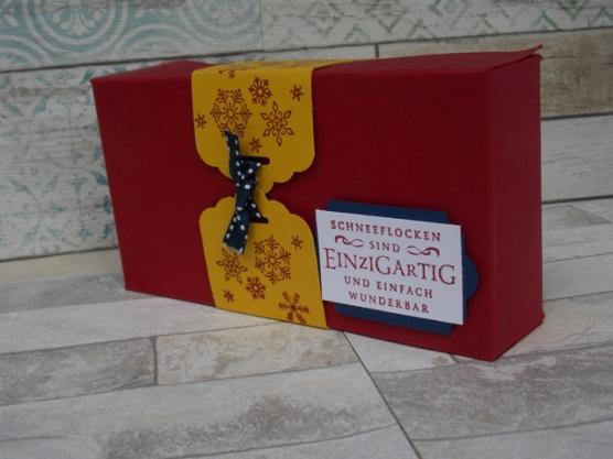 Weihnachten Klappbox