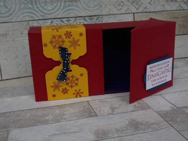 Klappbox zu Weihnachten