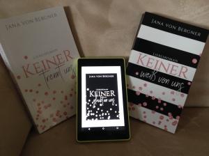 Keiner Trilogie von Jana von Bergner 2