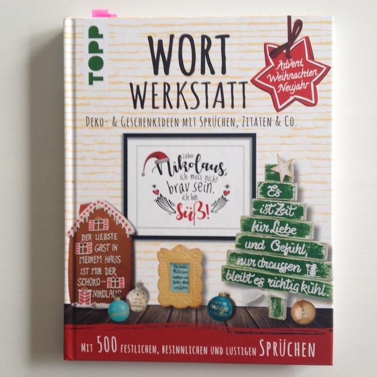Topp Wort Werkstatt Weihnachten Cover