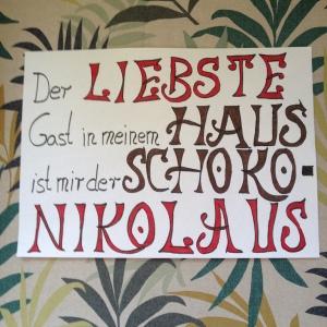 Topp Wort Werkstatt Weihnachten: Handlettering Spruch
