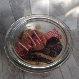 Topp Wort Werkstatt Weihnachten: Keksdose von Oben