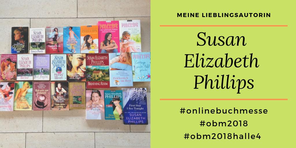 Meine Lieblingsautorin ist Susan Elizabeth Phillips auf dem Foto kannst du alle Bücher von ihr sehen, die bis heute erschienen sind.