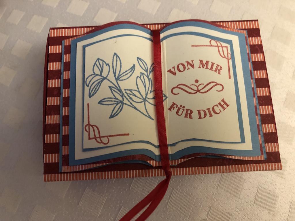 Schubbox mit Buch