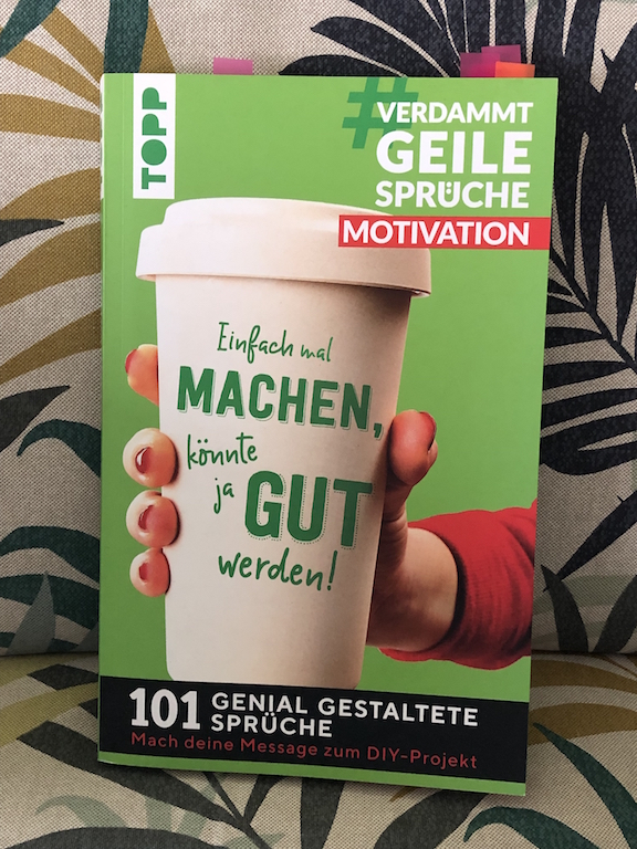 Cover vom Buch: #VerdammtGeileSprüche Motivation