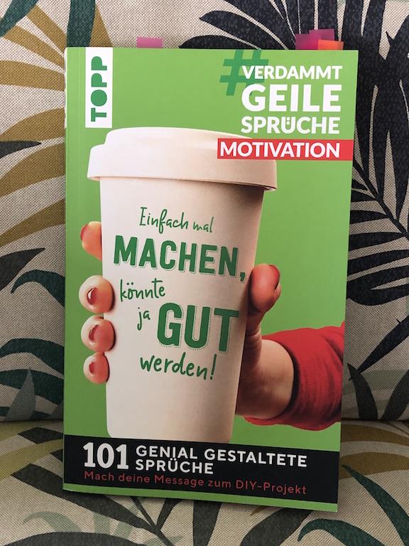 Cover vom Buch: #VerdammtGeileSprüche Motivation
