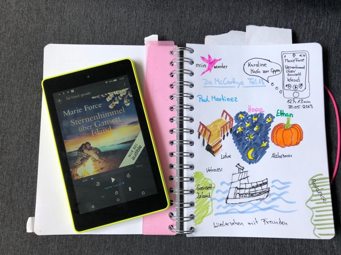 Rezension: Sternenhimmel über Gansett Island von MarieForce