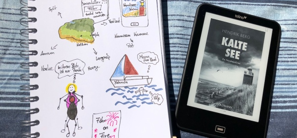 Kalte See von Hendrik Berg Ebook und Sketchnote