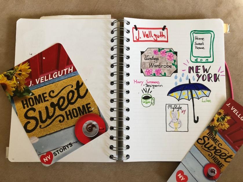 Home sweet Home von J Vellguth Sketchnote mit Flyer