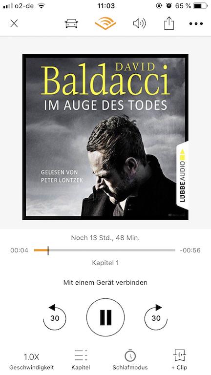 Im Auge des Todes von David Baldacci Hörbuch