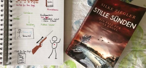 Stille Sünden von Silke Ziegler Sketchnote und Buch