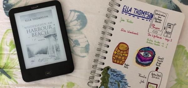 Wiedersehen am Harbour Beach von Ella Thompson eBook und Sketchnote