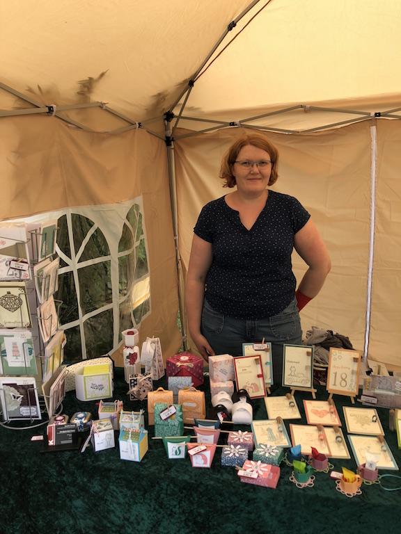 Kleiner Kreativmarkt Mühlen 2019 Kerstins Kartenwerkstatt