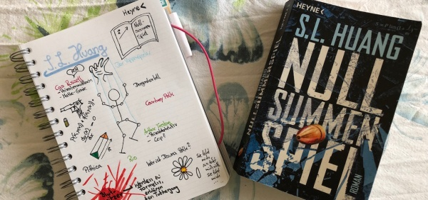 Nullsummenspiel von SL Huang Sketchnote und Taschenbuch