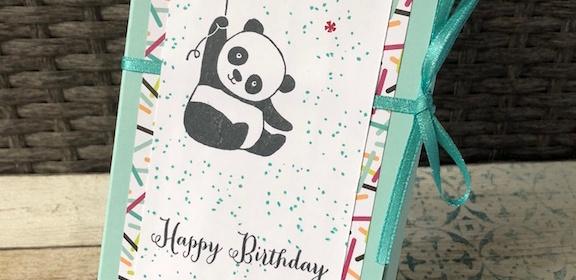Tassenkuchen Verpackung Panda