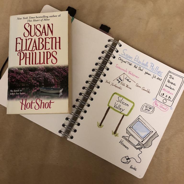 Die Herzensbrecherin von Susan Elizabeth Phillips Sketchnote