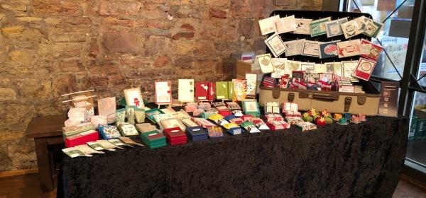 Koffermarkt OS 3.11.19 Stand von Kerstins Kartenwerkstatt
