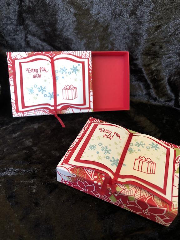 Weihnachten: Box mitBuch