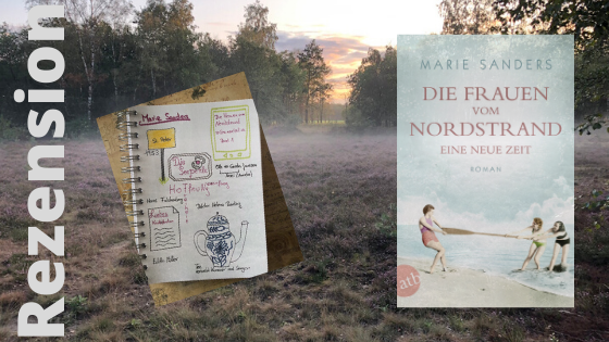 Die Frauen vom Nordstrand 1 von Marie Sanders Blog Banner