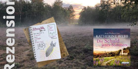 Die Schuld jenes Sommers von Katherine Webb Sketchnote zum Buch