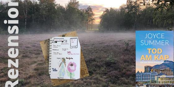 Tod am Kap von Joyce Summer Sketchnote zum Buch