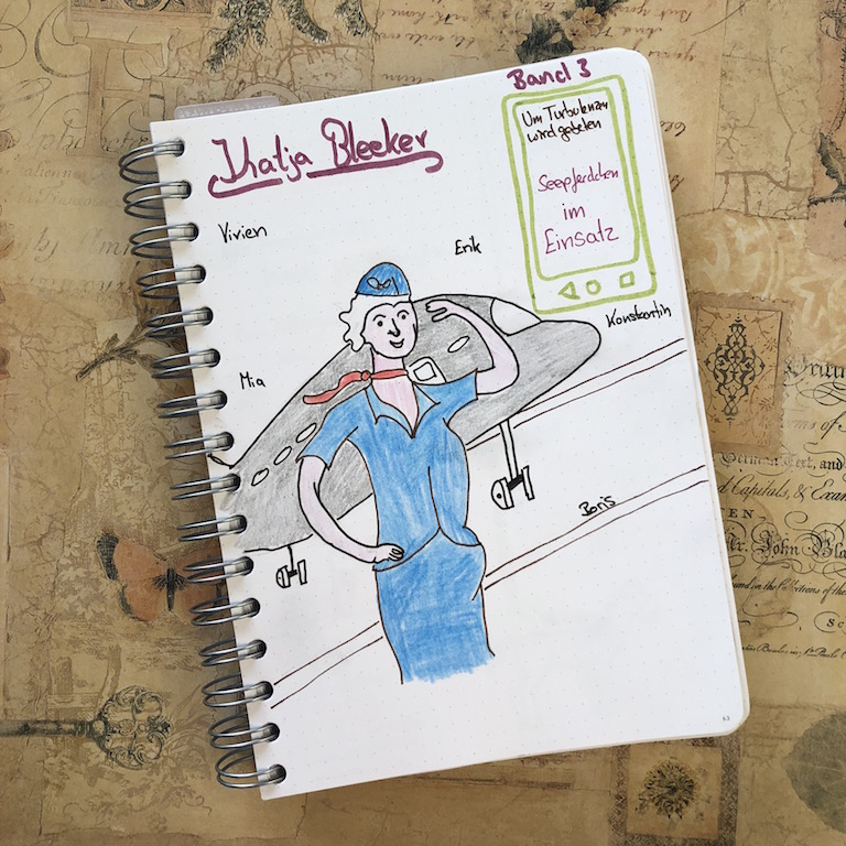 UTwg Seepferdchen im Einsatz von Katja Bleeker Sketchnote zum Buch