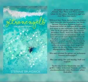 Zitronengelb von Stefanie Brunswick mit Klappentext