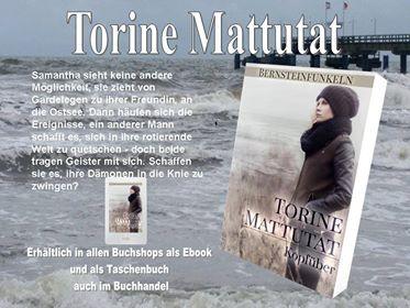 Torine Mattutat Bernsteinfunkeln Kopfüber