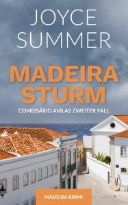 Cover vom Buch: Madeirasturm von Joyce Summer