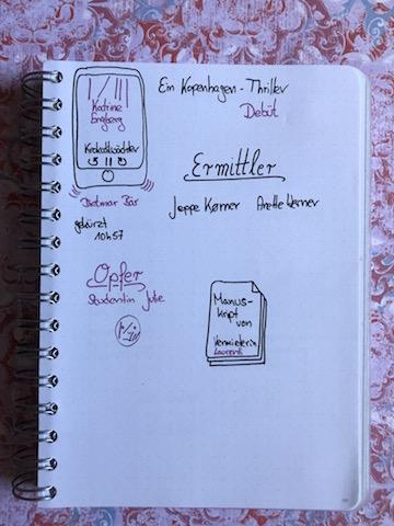 Krokodilwächter von Katrine Engberg Sketchnote zum Hörbuch