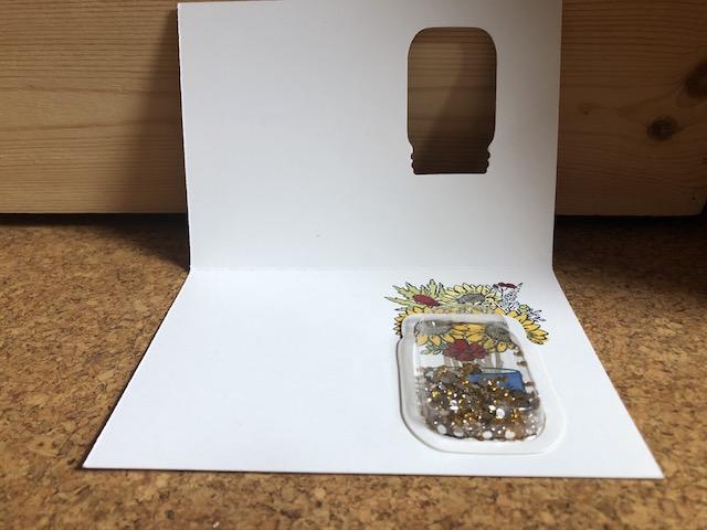 DSP Blumen für jede Jahreszeit mit Einmachglas Plastikkuppel