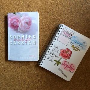 Sophie und Cassian zaghaft von BSL Peschka Sketchnote und Buch