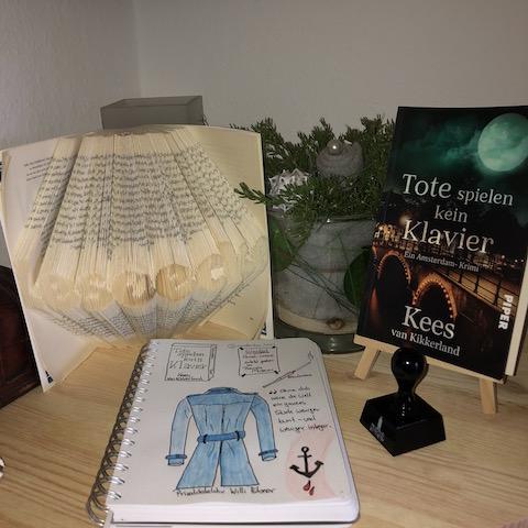 Tote spielen kein Klavier von Kees van Kikkerland Sketchnote und Buch