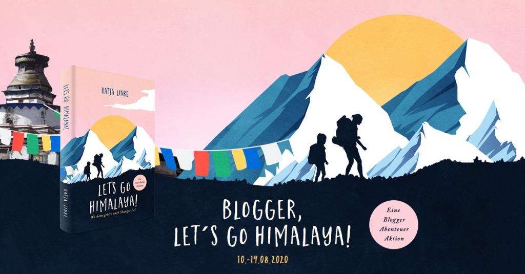 Blogger Banner Lets go Himalaya von Katrin Linke