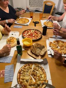 Bastelwochenende in Düren August 2020 Abendessen